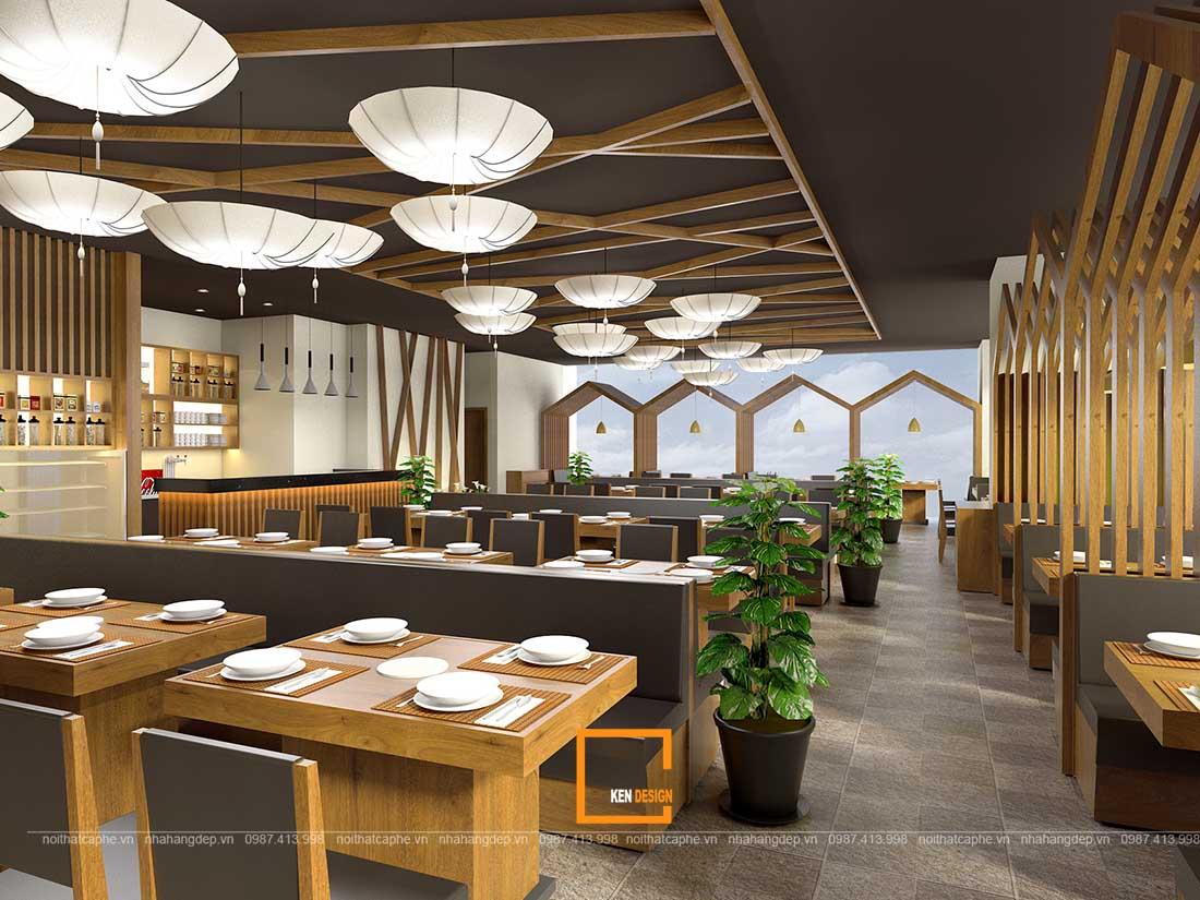 Điểm danh một số xu hướng thiết kế nhà hàng cho doanh thu ổn định