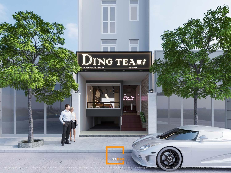 Quán trà sữa Ding Tea - Hồ Chí Minh