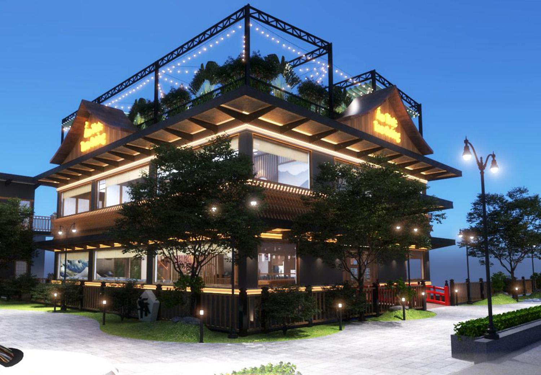 Dự án thiết kế nhà hàng Nhật Bản - Ẩm thực Tam Dương