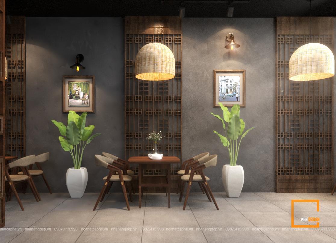 Dự án thiết kế quán Chuẩn Coffee