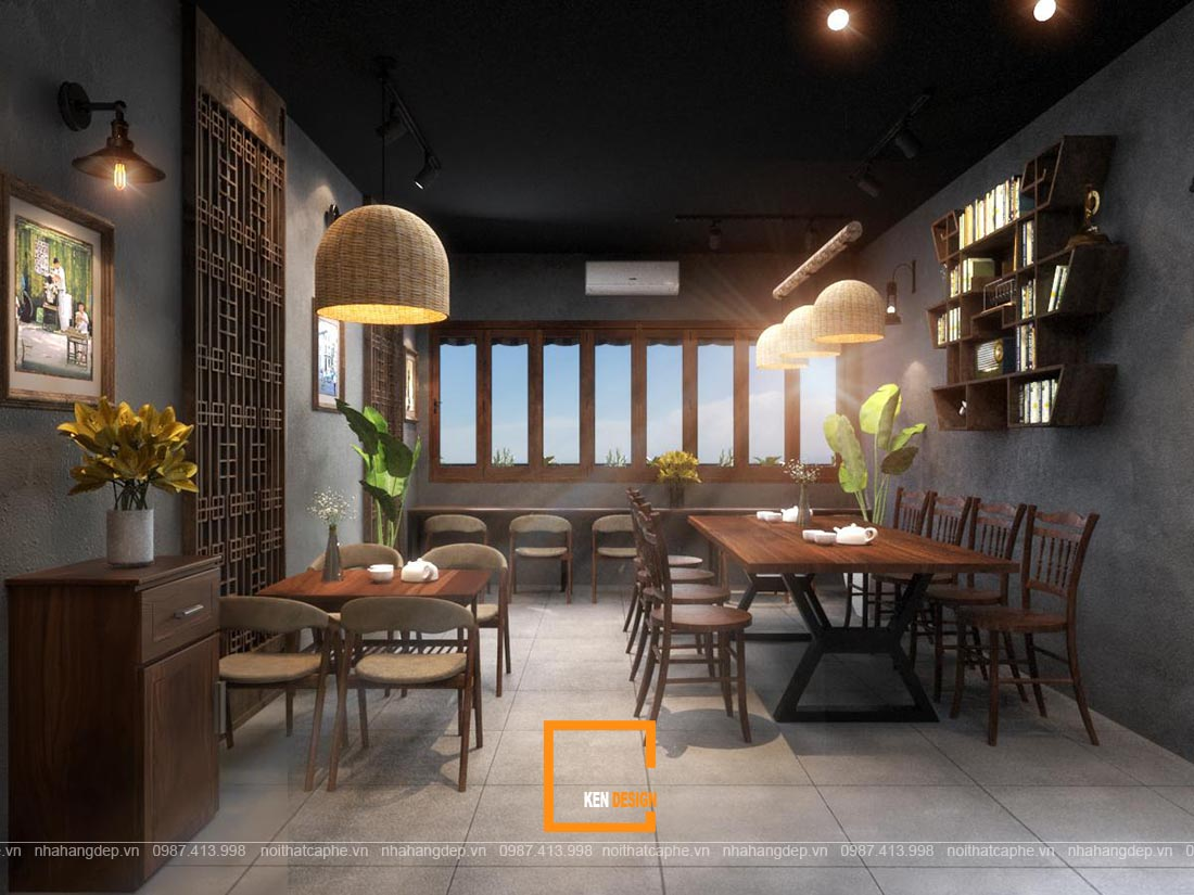 dự toán chi phí set up quán cafe
