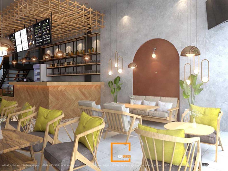dự toán chi phí setup quán cafe