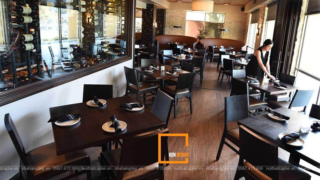 dự toán chi phí thiết kế nội thất nhà hàng