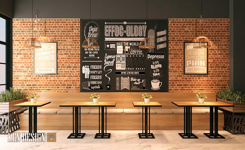 Thiết kế quán Effoc Coffee