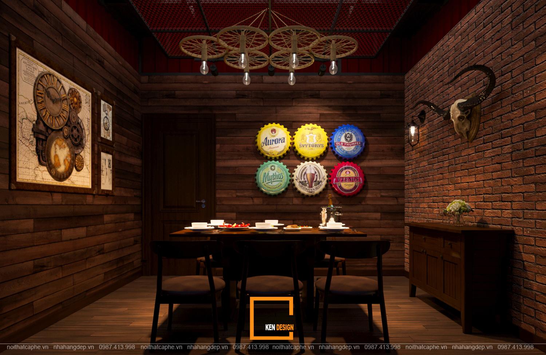 Giá thiết kế nhà hàng