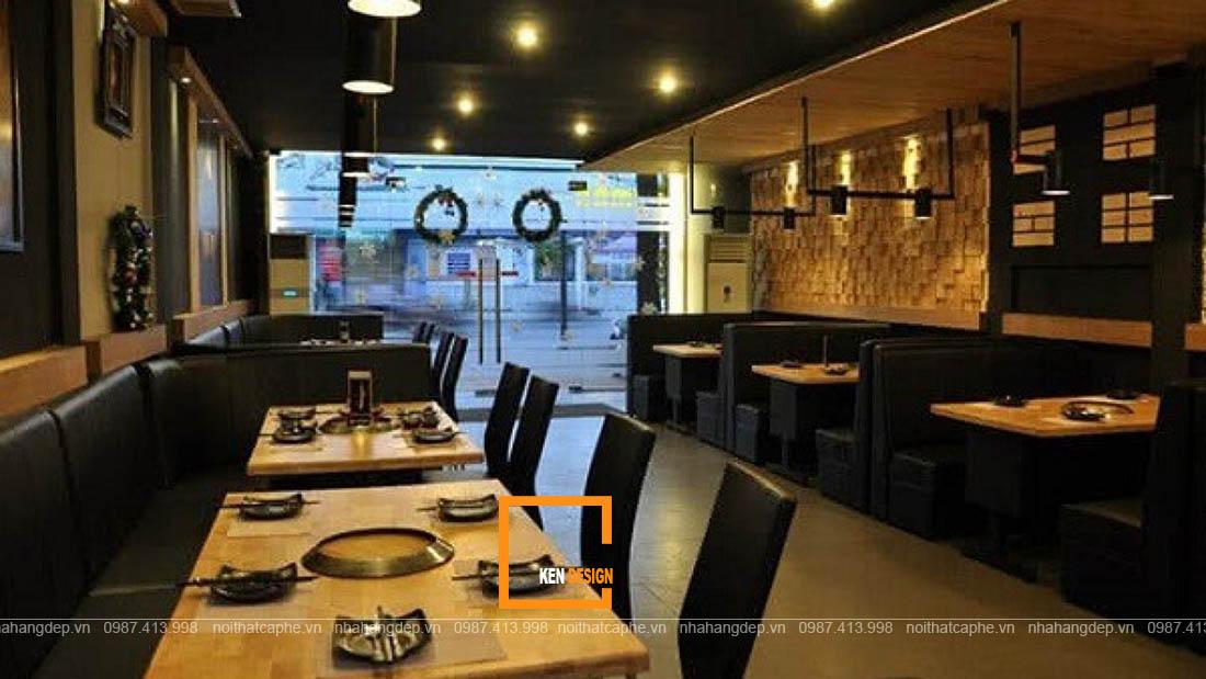 thiết kế nhà hàng buffet lẩu nướng BBQ