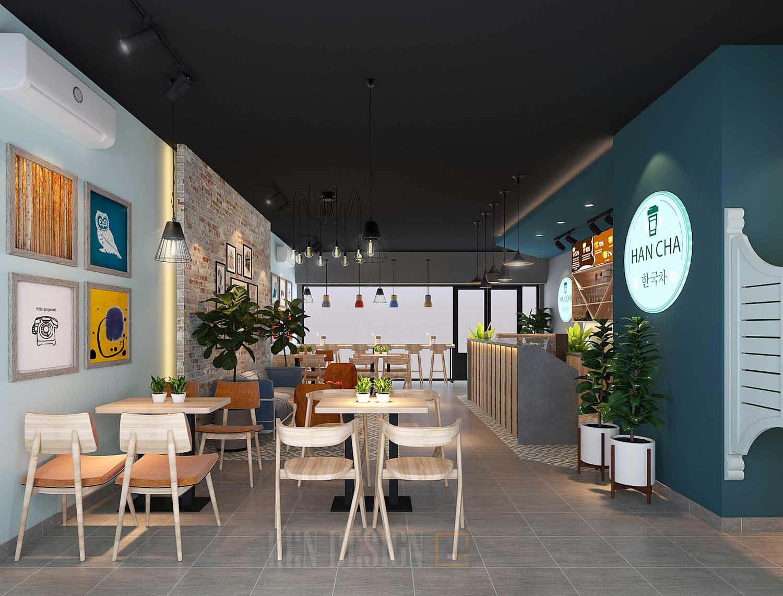 Thiết kế quán trà sữa Han Cha