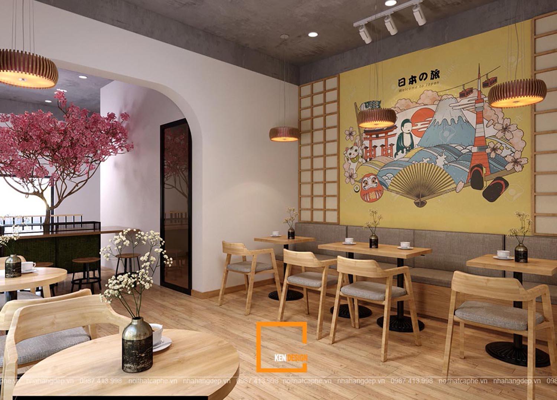 Thiết kế quán Hana Coffee