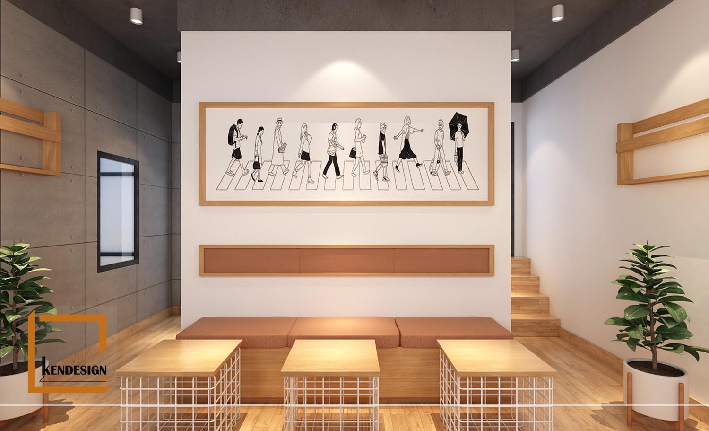 Thiết kế quán trà sữa Heekcaa Hải Phòng