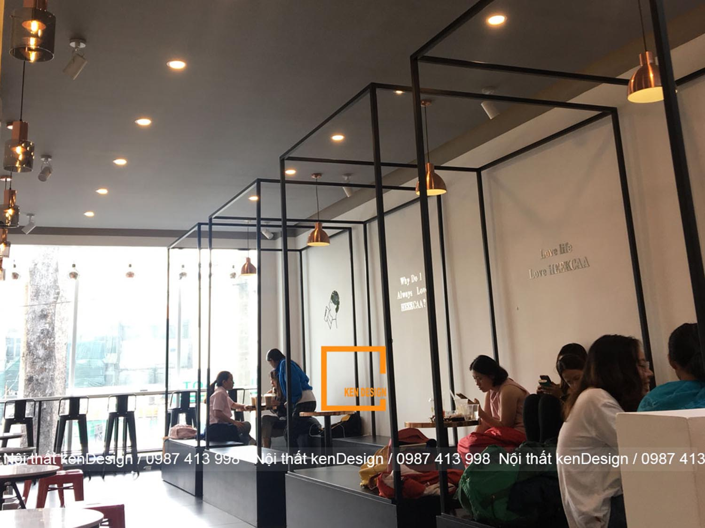 Thi công trà sữa Heekcaa - Hồ Chí Minh