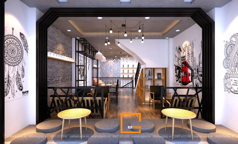 Thiết kế quán trà sữa Hey Tea- Nguyễn Khuyến