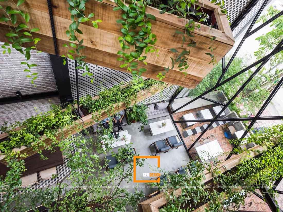 Hòa mình vào thiên nhiên cùng thiết kế quán cafe sân vườn