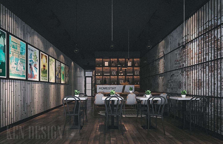 Thiết kế homestay nhà tù
