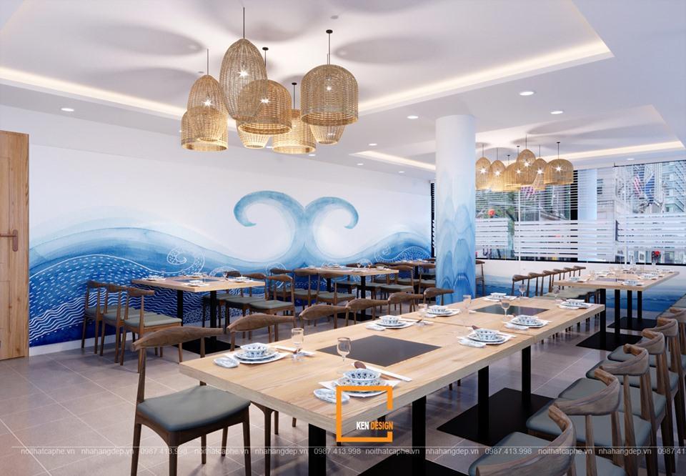 """Kinh nghiệm thiết kế nhà hàng thủy sản """"giữ"""" chân khách hàng"""