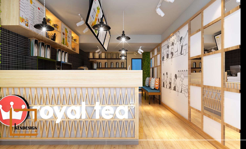 Kinh nghiệm thiết kế quán trà sữa