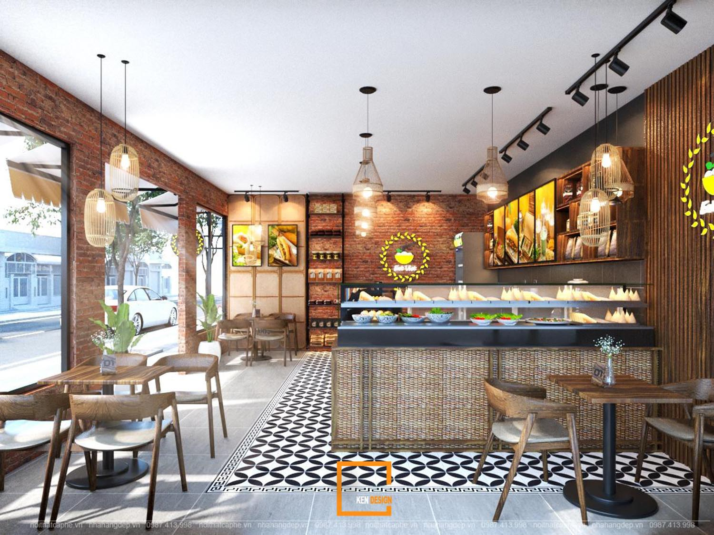 thiết kế thi công kiến trúc nhà hàng