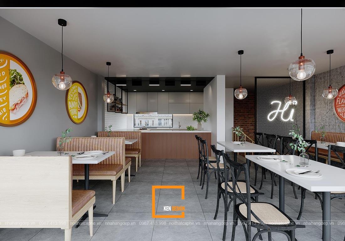 Lời khuyên thiết kế nhà hàng bình dân với không gian đẹp