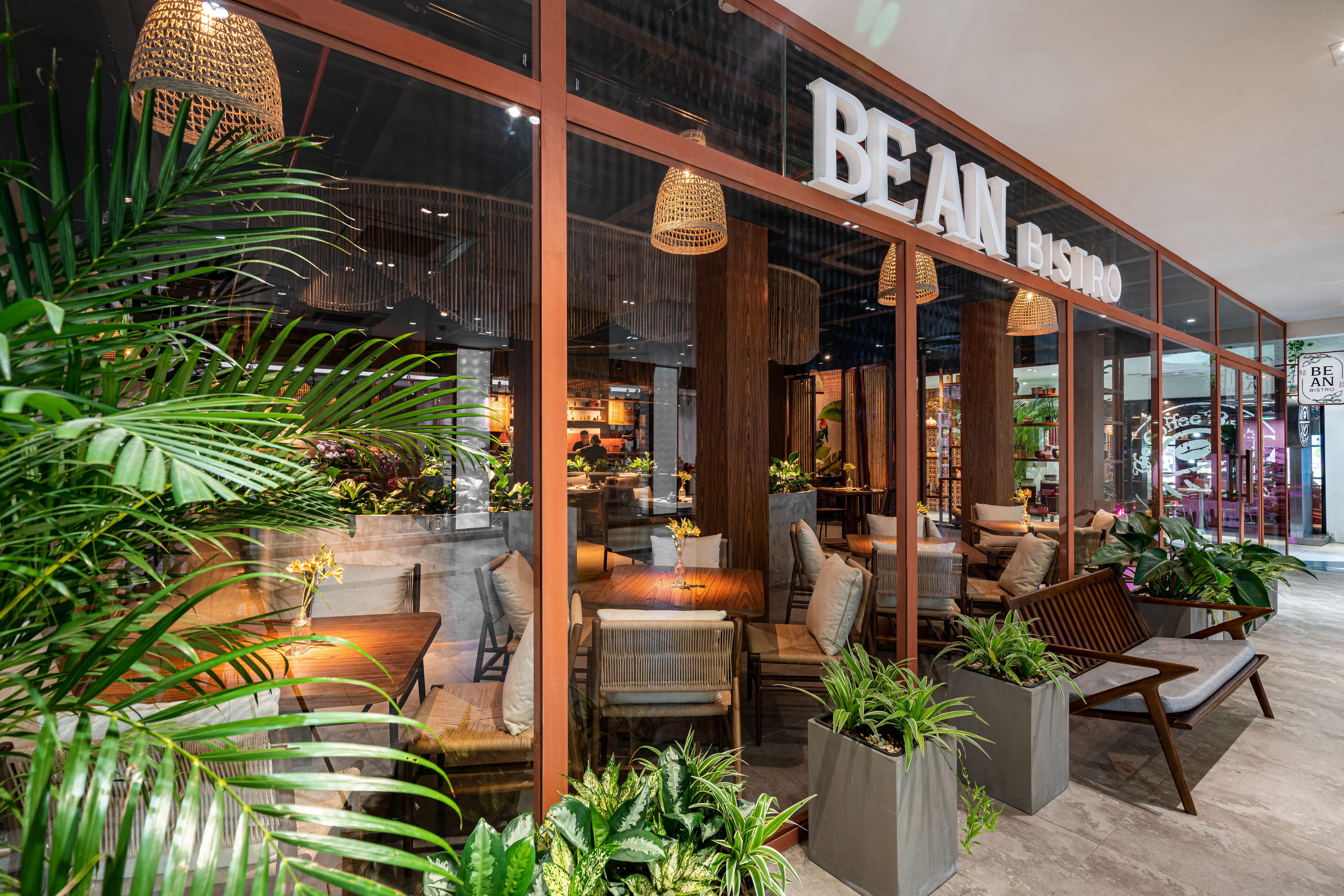 Mẫu thiết kế nhà hàng chay Be An Vegetarian - Đẹp an yên giữa Sài Thành nhộn nhịp