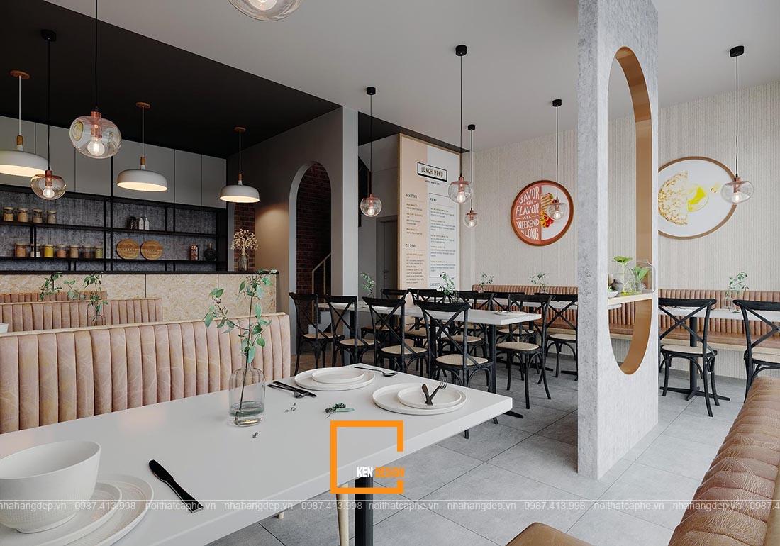 mẫu thiết kế quán ăn