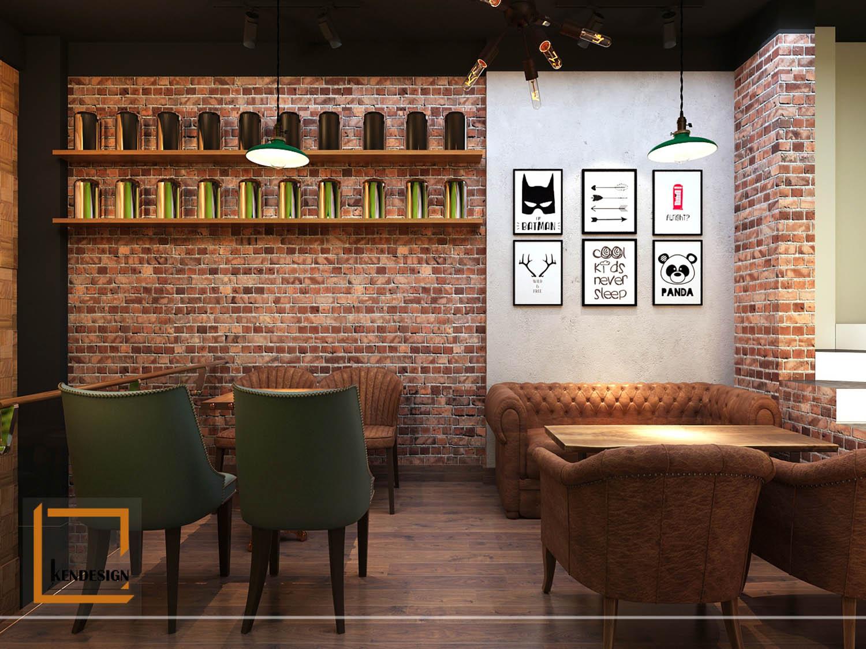 thiết kế quán trà sữa tại Bắc Giang