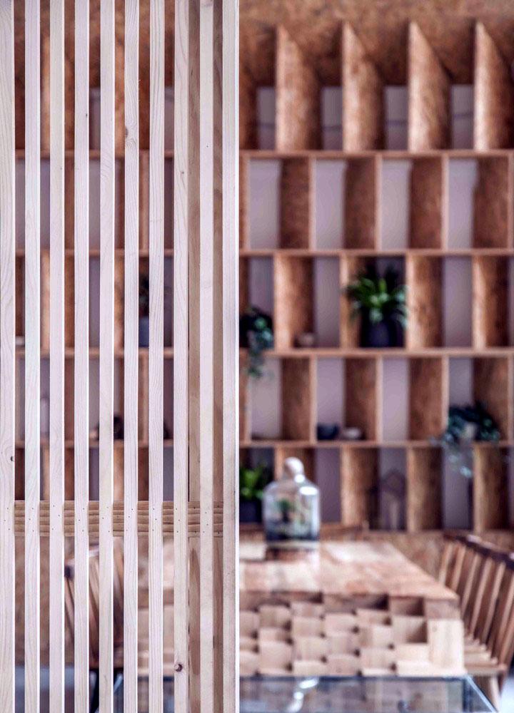 Mẫu thiết kế quán cafe Tropical Forest