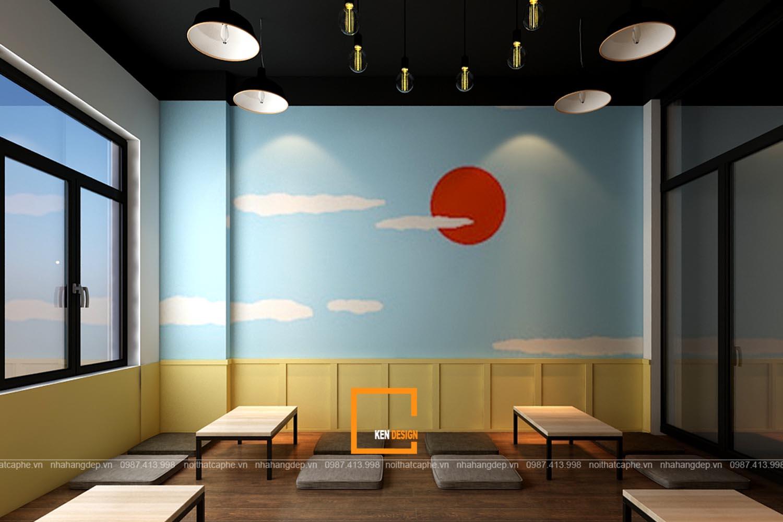 Thiết kế quán trà sữa Mizusawa