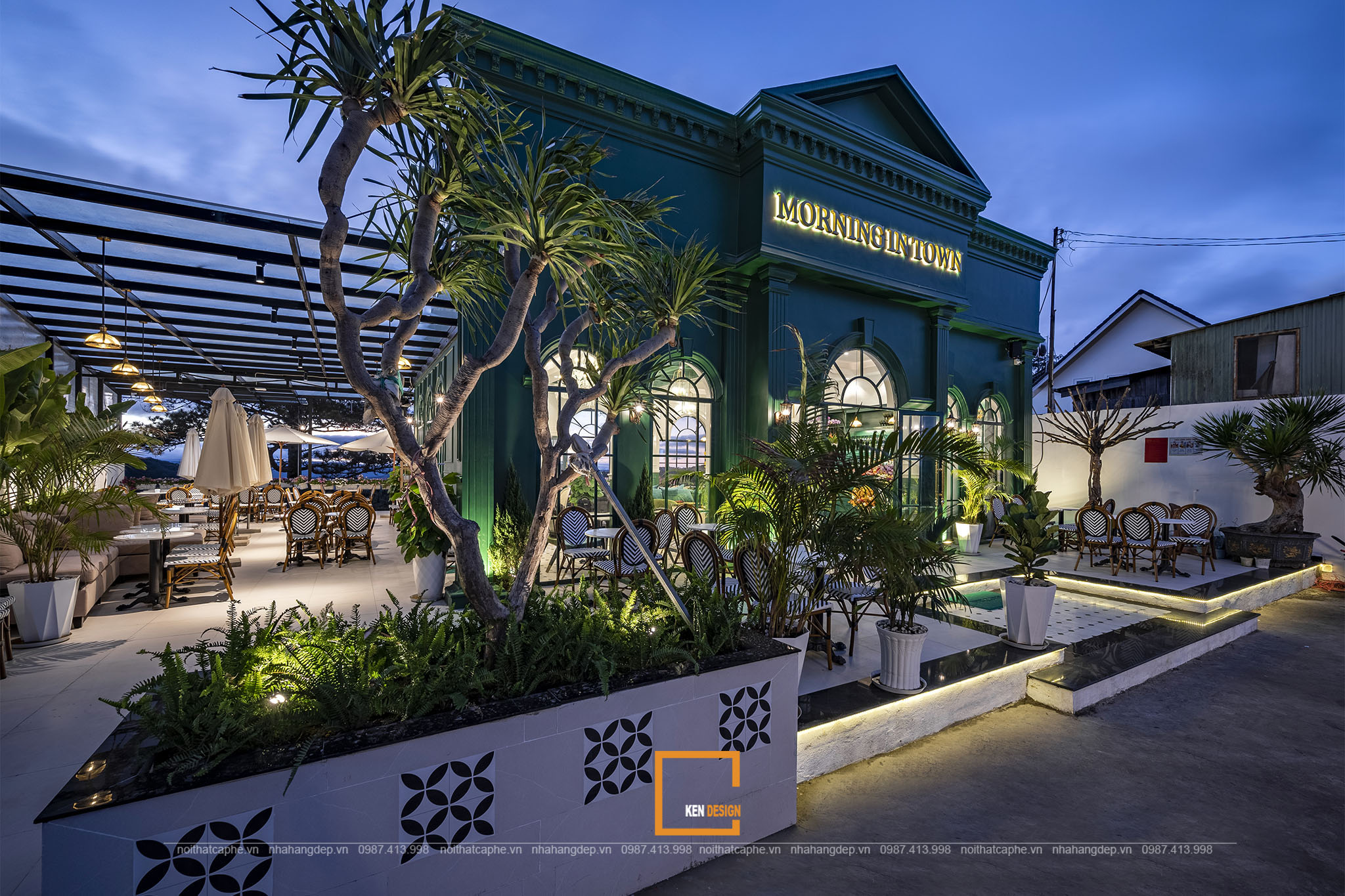 Dự án thiết kế quán café Morning in Town