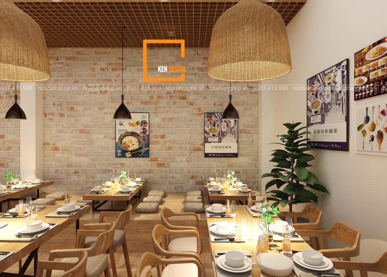 Thiết kế nhà hàng Mỳ cay GoChu