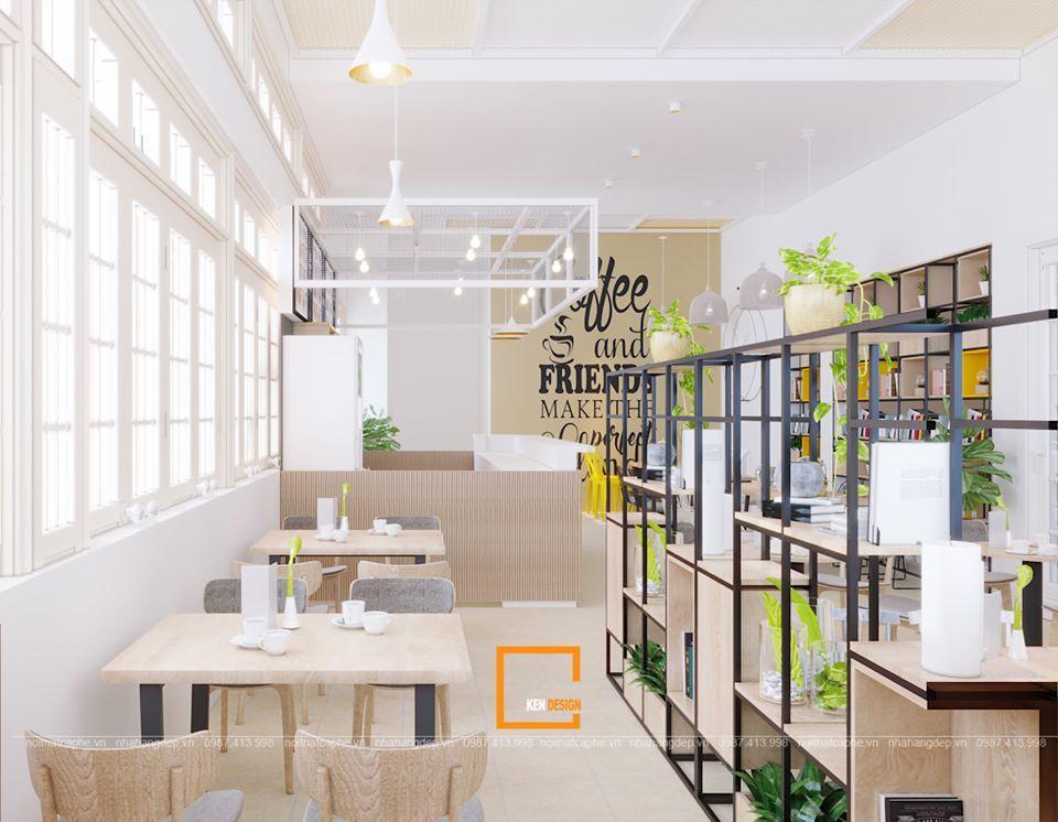 nguyên lý thiết kế quán cafe