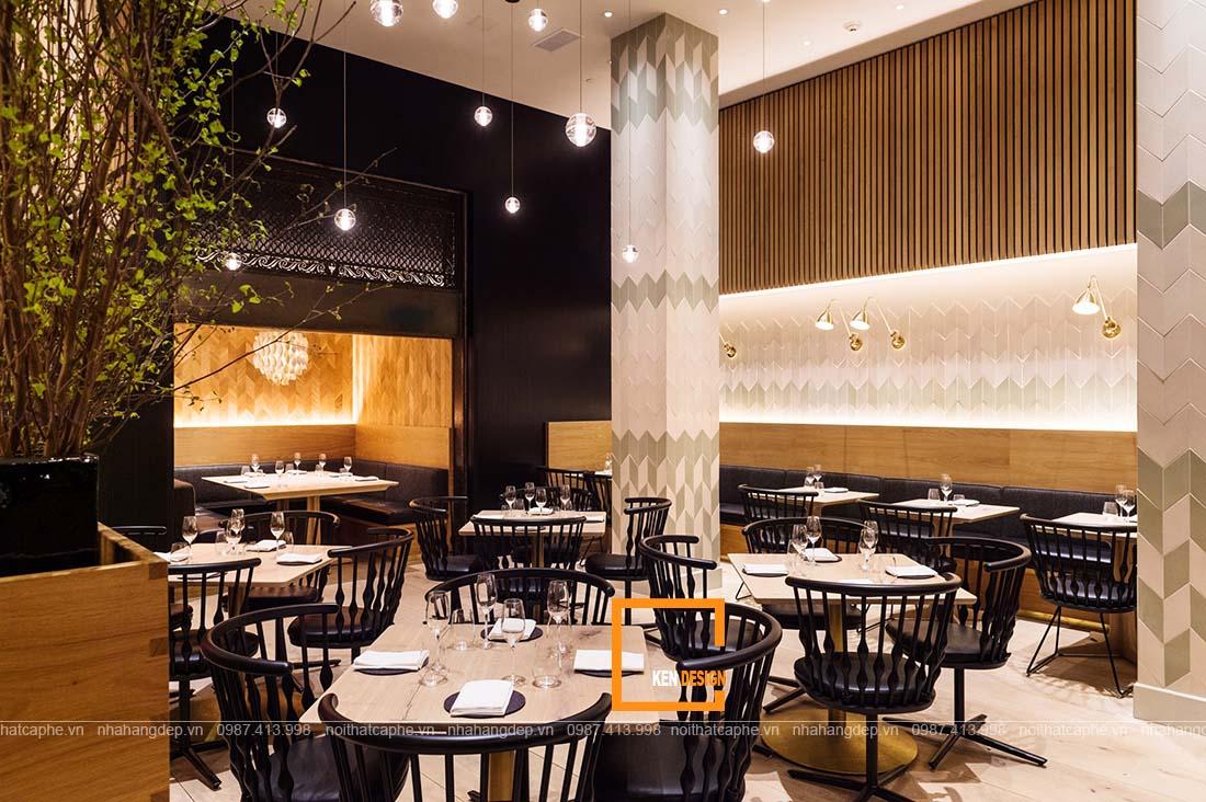 thiết kế nhà hàng phong cách Bắc Âu