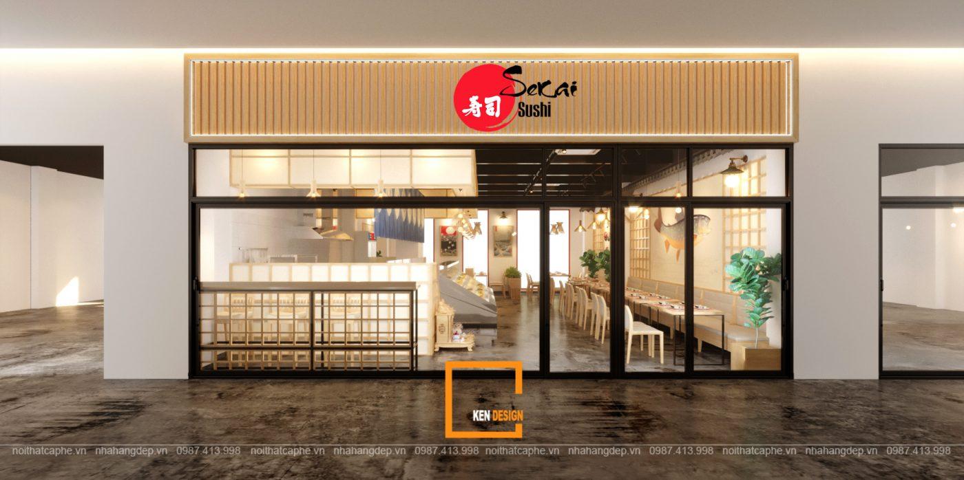 Nhà hàng nhật bản SeKai Sushi