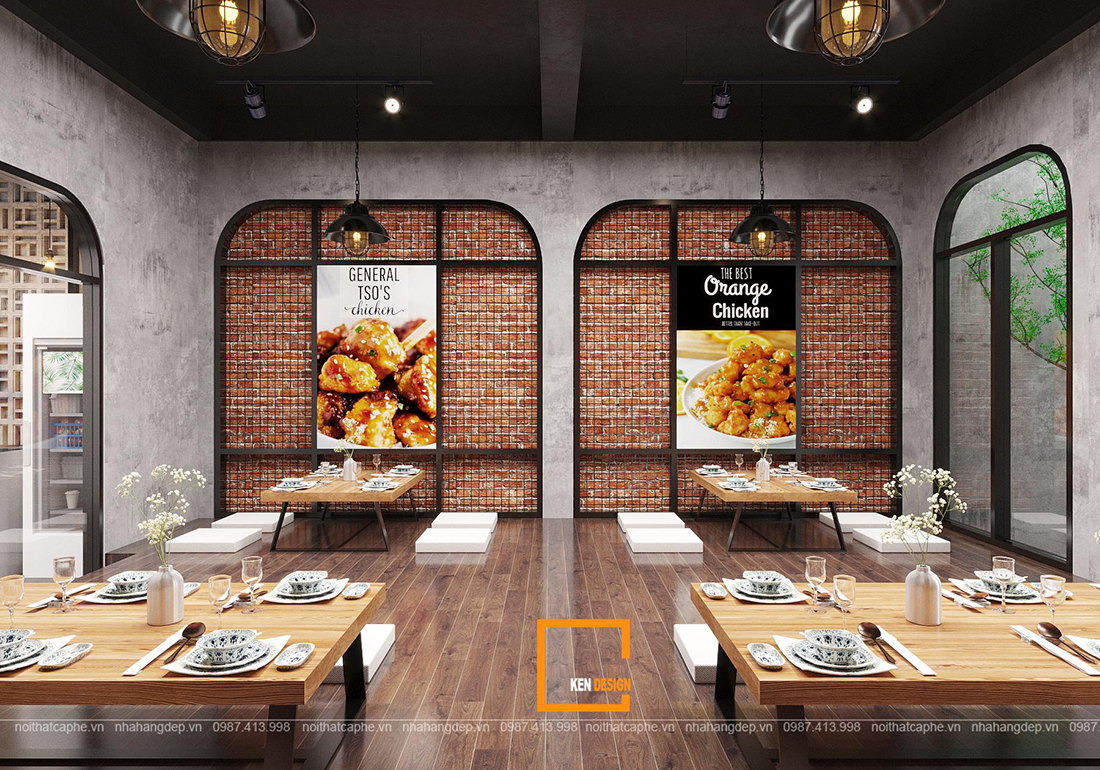 Vén màn bí mật của những thiết kế nhà hàng phong cách hiện đại