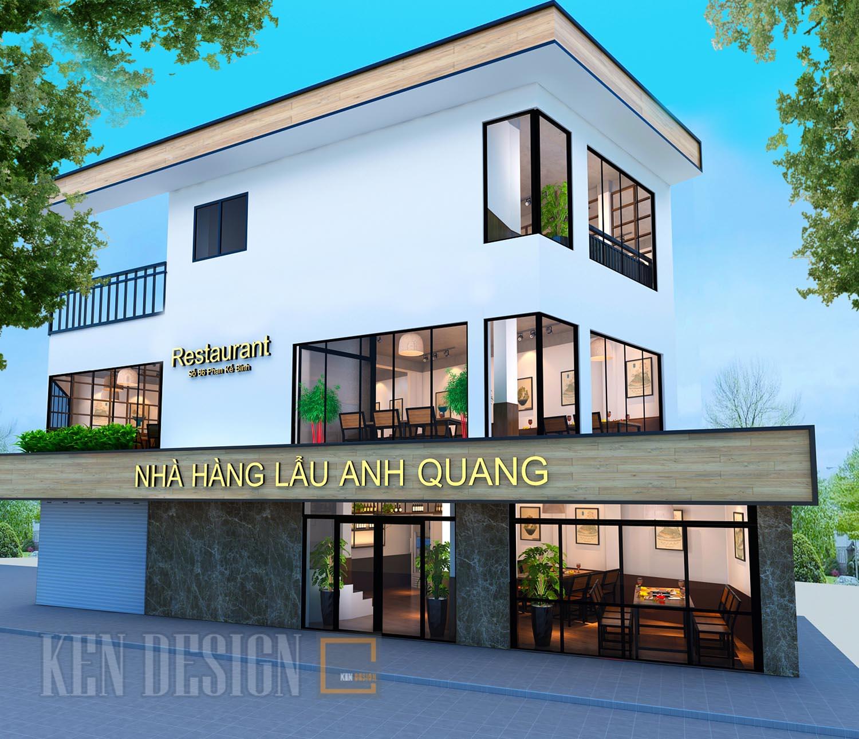 Thiết kế nhà hàng lẩu Anh Quang