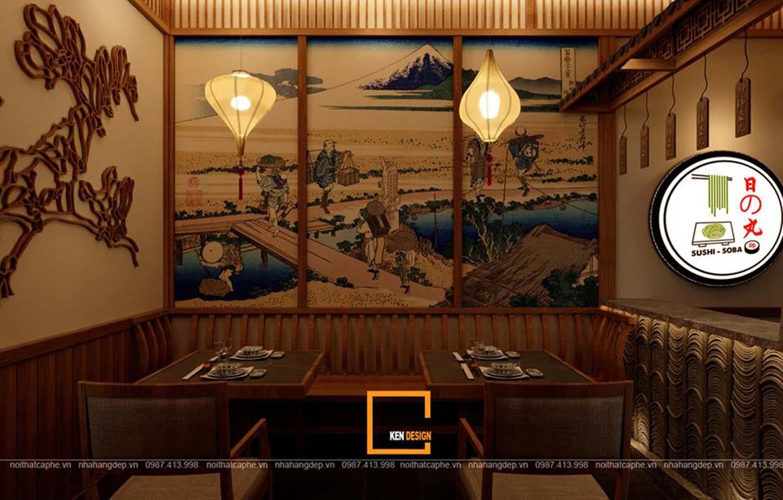 Ngắm nhìn 3 thiết kế nhà hàng phong cách Nhật Bản của KenDesign