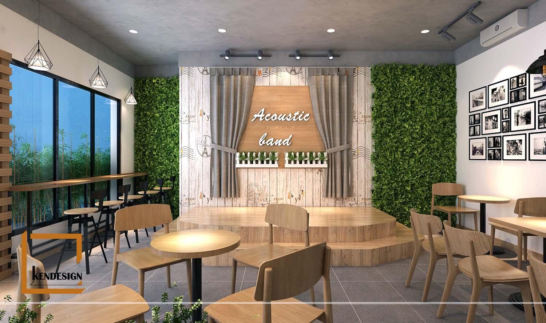 Thiết kế phòng trà Dũng Béo