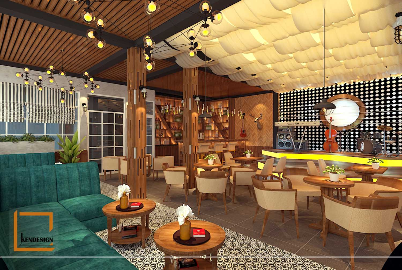 Thiết kế phòng trà, karaoke tây sơn