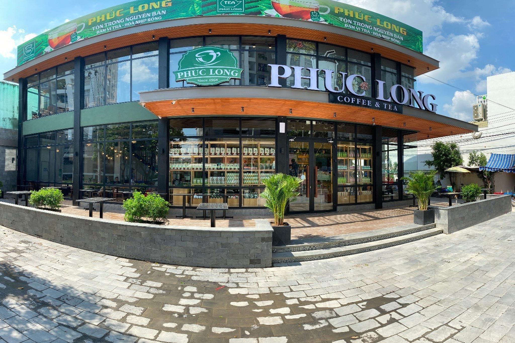Bí quyết thu hút khách hàng trong thiết kế quán cafe Phúc Long