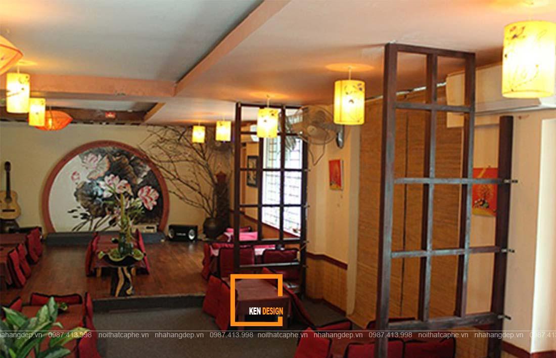 thiết kế quán trà đạo phong cách Nhật Bản