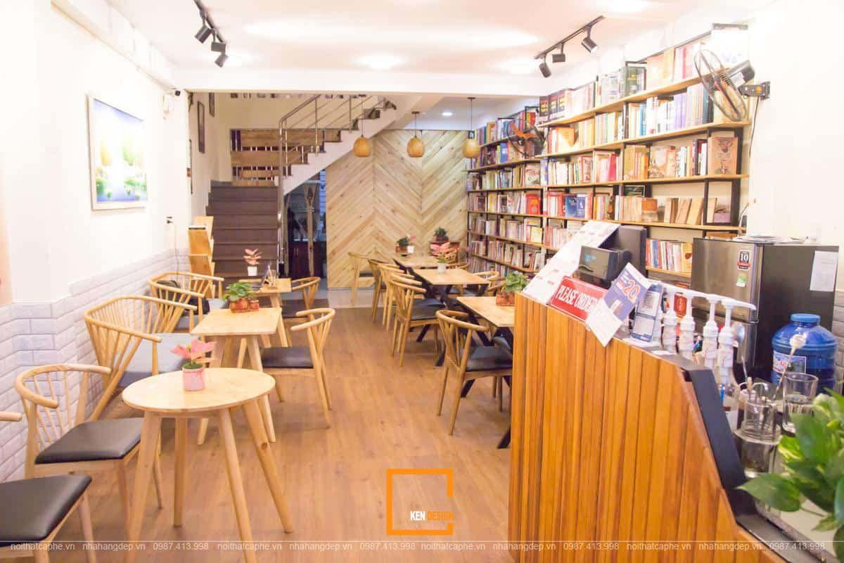 Tổng hợp những kinh nghiệm thiết kế quán cafe sách chuẩn đẹp ( phần 2)