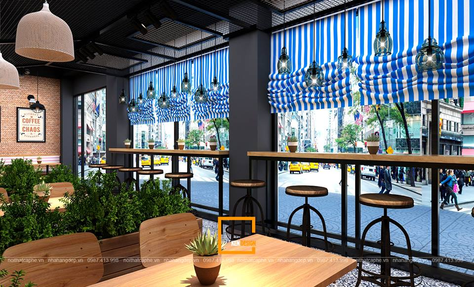 Thiết kế quán cà phê Rock - King Coffee