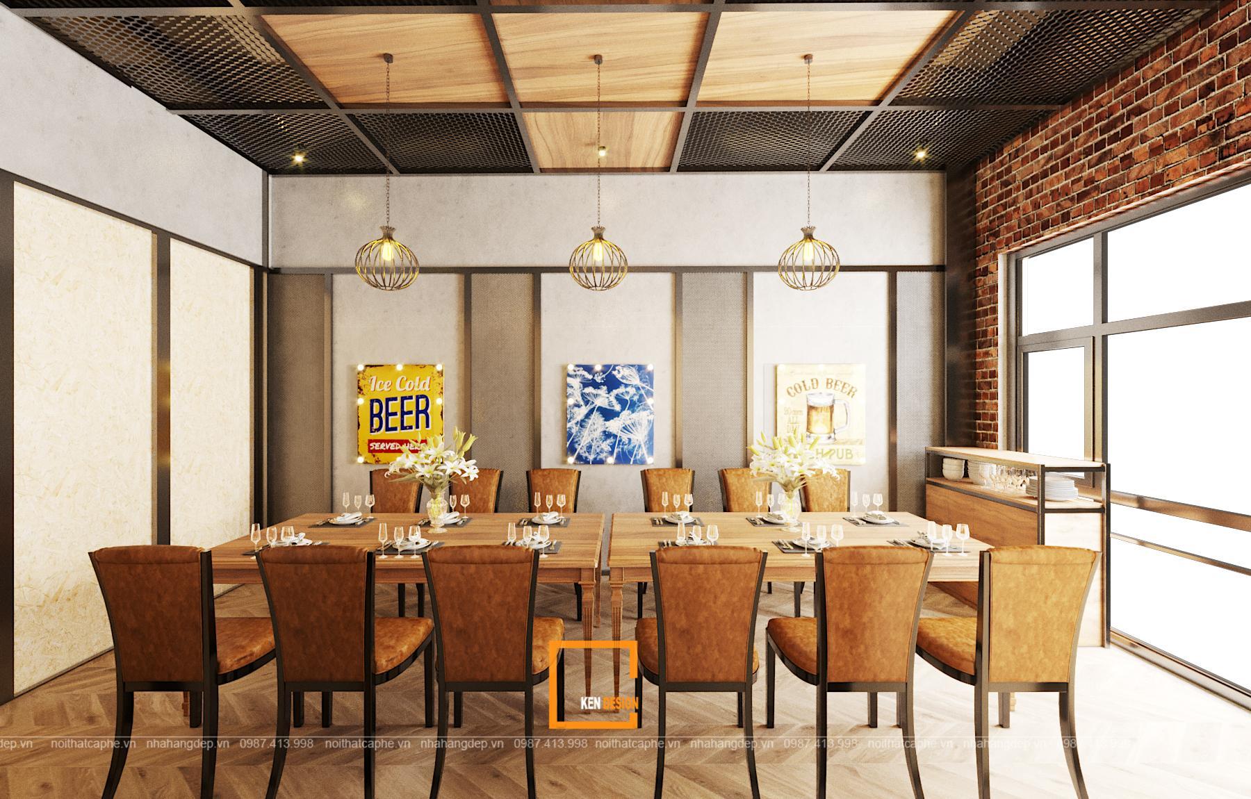 Tham khảo cách thiết kế nhà hàng đẹp cho việc kinh doanh hiệu quả