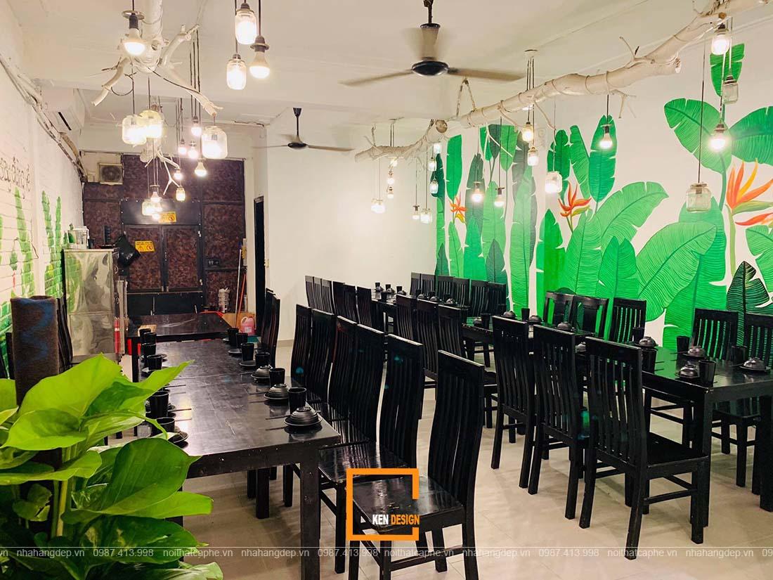 thi công nhà hàng tại Hồ Chí Minh