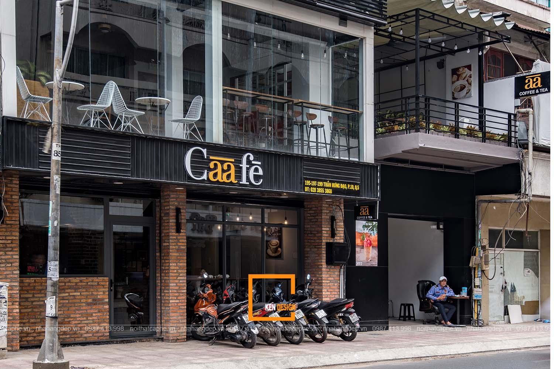 Thi công quán cafe Caafe