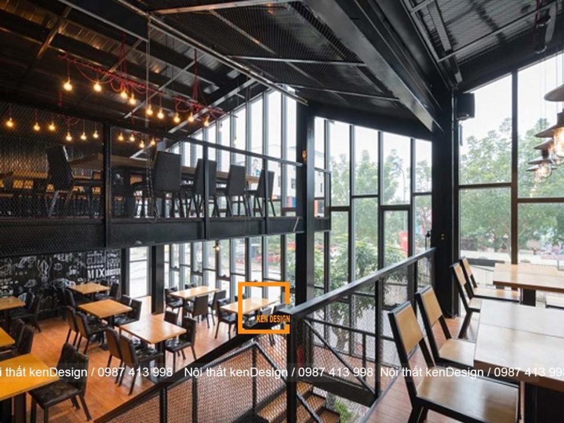 Tìm hiểu trình tự thi công kiến trúc và nội thất nhà hàng khung thép đúng chuẩn KenDisgn
