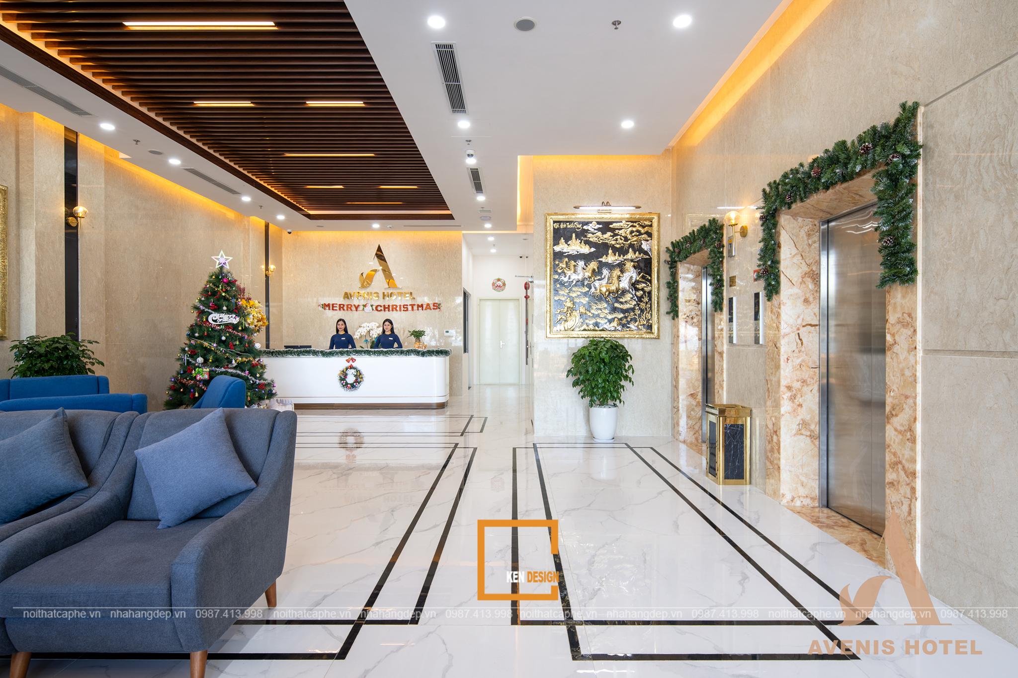 Thiết kế khách sạn Avenis - thiên đường nghỉ dưỡng nơi miển biển