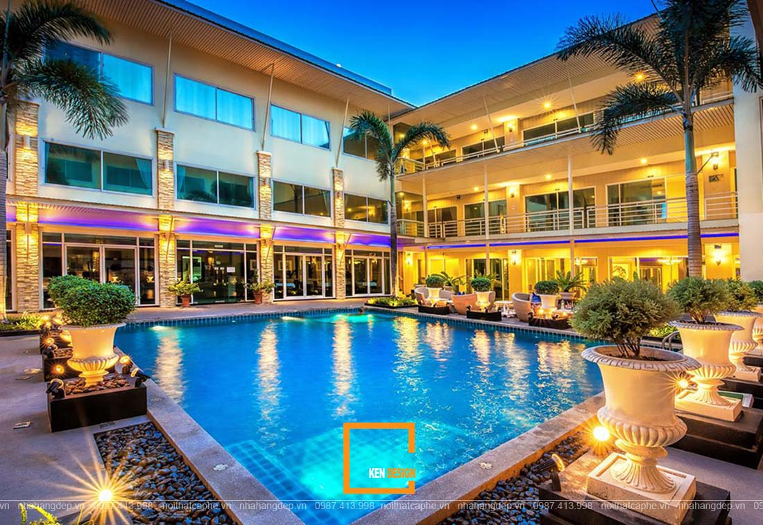 thiết kế khách sạn tại vùng du lịch