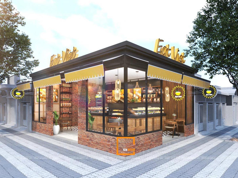 Thiết kế ngoại thất nhà hàng