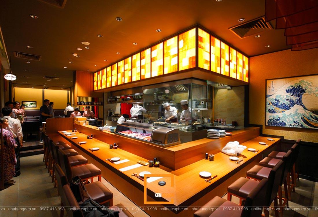 thiết kế nhà hàng Á
