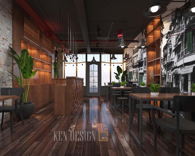 """Thiết kế nhà hàng bằng gỗ - Xu hướng không bao giờ """"lỗi thời"""""""