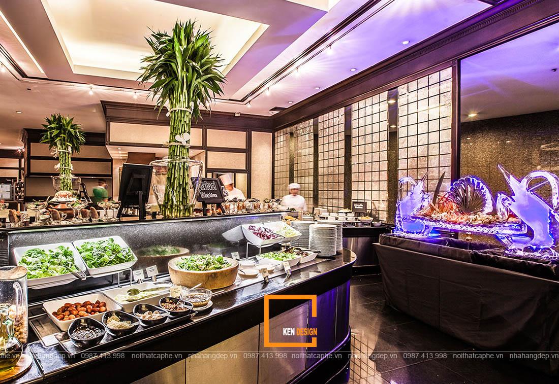 Thiết kế nhà hàng buffet bình dân